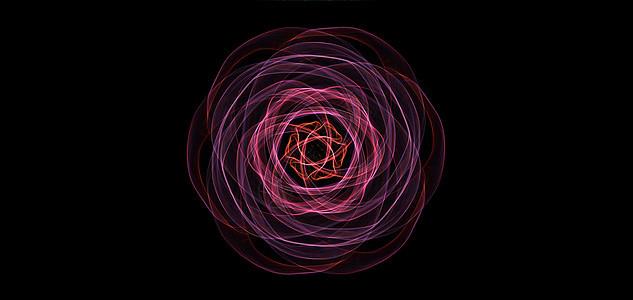 抽象线条的动感图片
