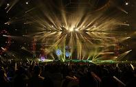 绚丽舞台灯光图片
