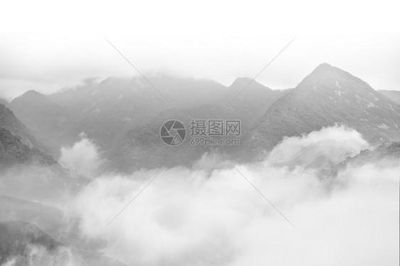 武夷山云雾图片
