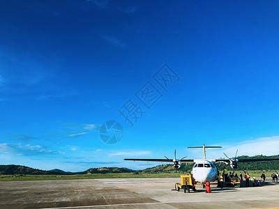 菲律宾巴拉望科隆岛机场图片