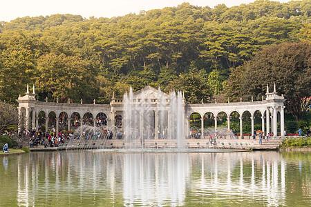 风景秀丽的广州云台花园图片