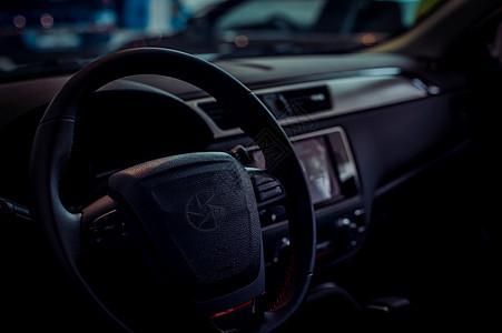 智能汽车方向盘图片