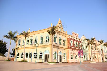 城堡 场景 剪影 建筑图片