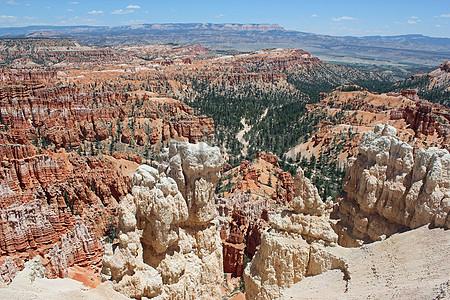 山上的红砂岩图片