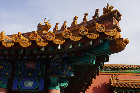 北京故宫瓦当鸱吻图片