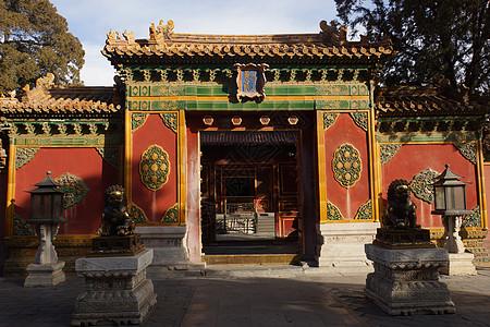 北京故宫养心门图片