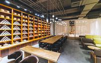 现代茶馆简约风500230957图片