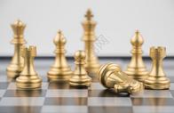 国际象棋团队概念图片