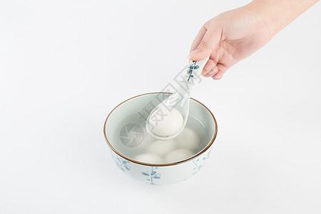 一碗汤圆图片