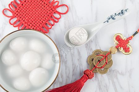 中国传统美食元宵汤圆图片