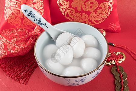 中国节日美食汤圆素材图片