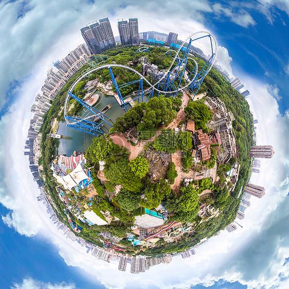 360度航拍全景小行星图片素材_免费下载_jpg图片格式