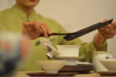 东方元素饮茶茶道图片
