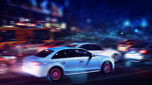 唯美炫酷的极品飞车风格摄影跑车赛车游戏图片