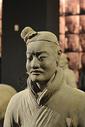 陕西历史博物馆兵马俑复刻图片