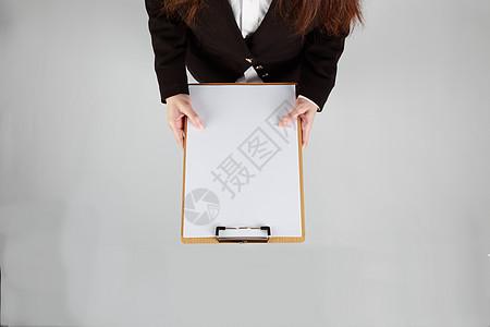 白底合成素材商务人像女性图片