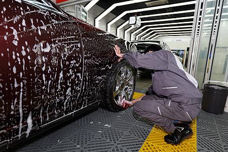 洗车养车汽车美容保养高清图片