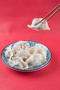 水饺单拍图片
