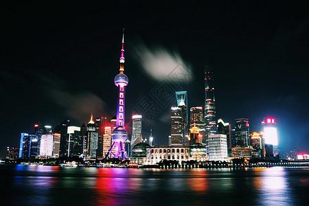 上海外滩大美延时夜景图片