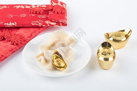 新年传统美食水饺图片