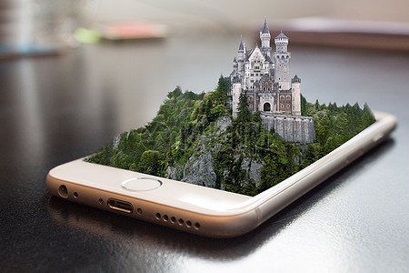 手机全息技术图片