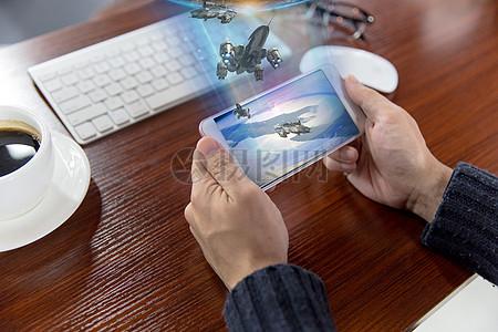 全息技术图片