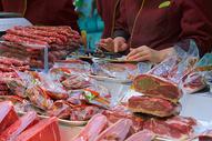 中国新年春节年货置办图片