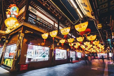 春节豫园传统灯会图片