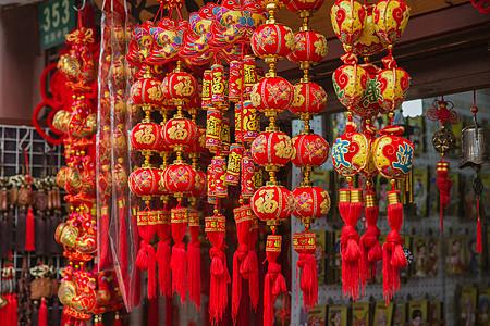 中国春节传统工艺品装饰图片