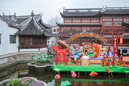 豫园非物质文化遗产展览图片