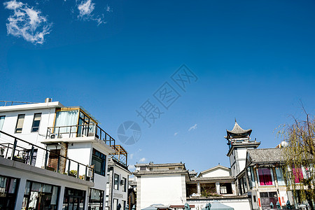 云南大理下关洱海大理古城图片