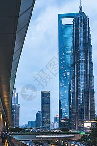 陆家嘴高楼大厦图片