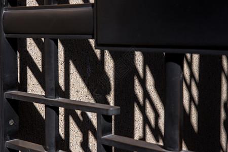 城市建筑设施阳光光影图片