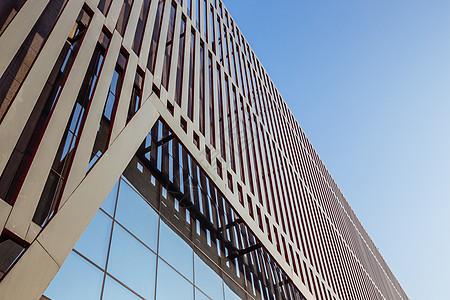 大气线条设计城市展馆图片