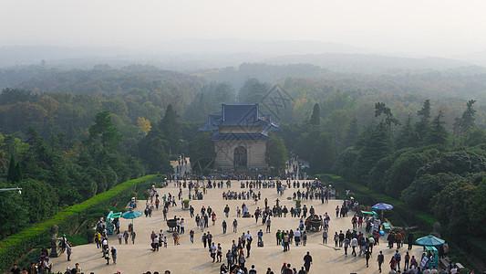 南京栖霞山中山陵图片