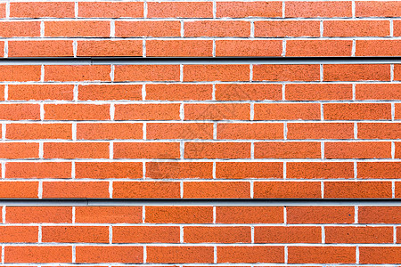 红色水泥砖墙背景图片