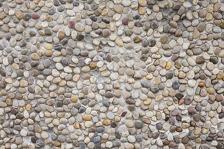 鹅卵石墙面背景图片