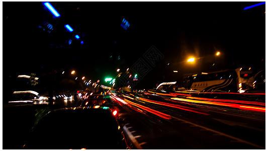 夜晚的灯光图片