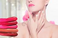 美妆护肤海报背景图片