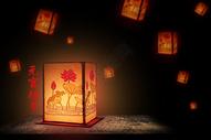 元宵节的花灯图片