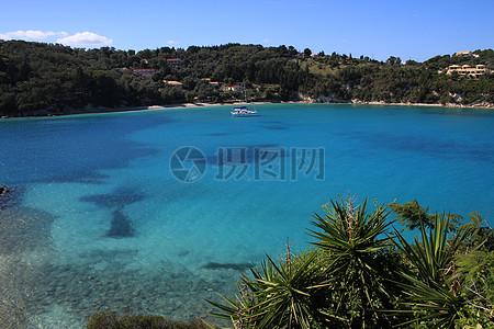美丽的希腊海景图片