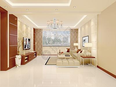 新中式家装风格效果图图片