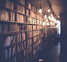 宁静无人图书馆图片