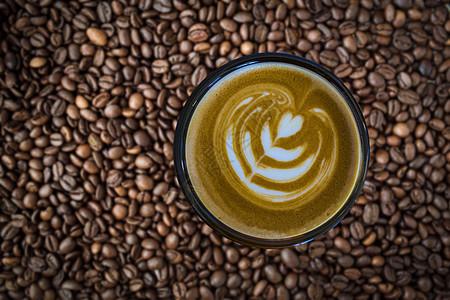 醇香咖啡图片