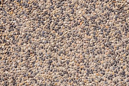 鹅卵石拼接墙面背景素材图片