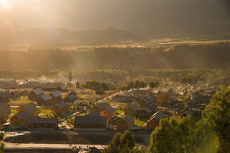 新疆禾木图片