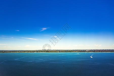 俯瞰澳大利亚港湾图片
