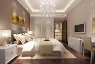现代卧室效果图图片