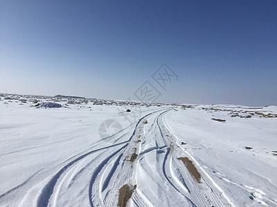 敦煌雪景及戈壁图片