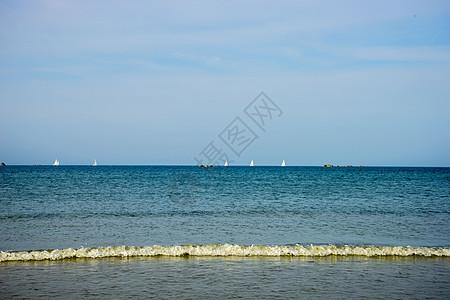 泽西岛美景图片